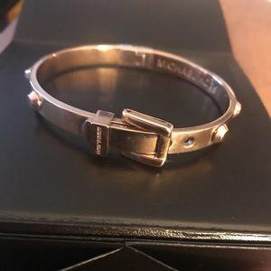 Brand New Rose Gold Michael Kors Buckle Bracelet